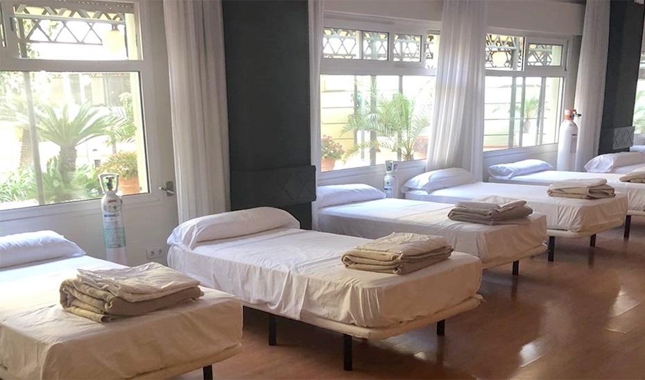 El Hotel Ilunion Alcora no acoge desde hace varias fechas a ningún paciente con Covid19.