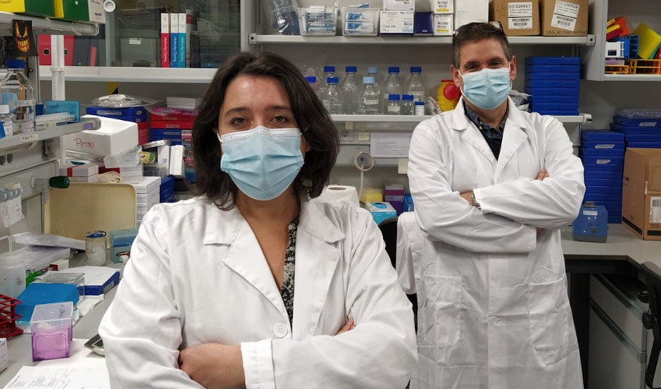 Valentine Comaills y Benoit Gauthiers lideran el proyecto de investigación en Cabimer, Sevilla.